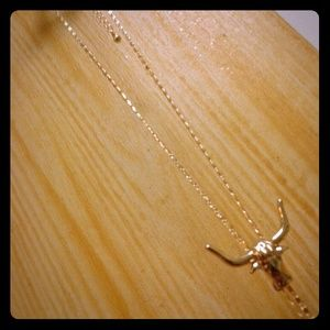 bull Lariat necklace